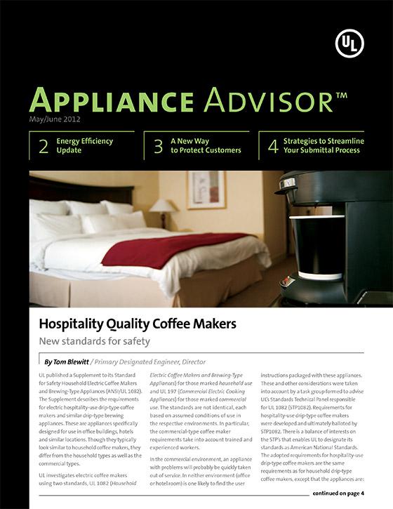 Appliance Advisor, 2012, Issue 3