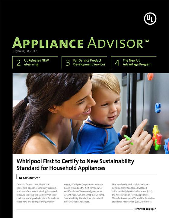 Appliance Advisor, 2012, Issue 4