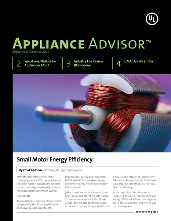 Appliance Advisor, 2012, Issue 5