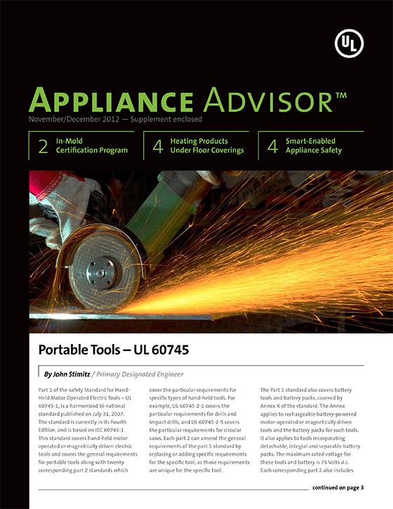 Appliance Advisor, 2012, Issue 6