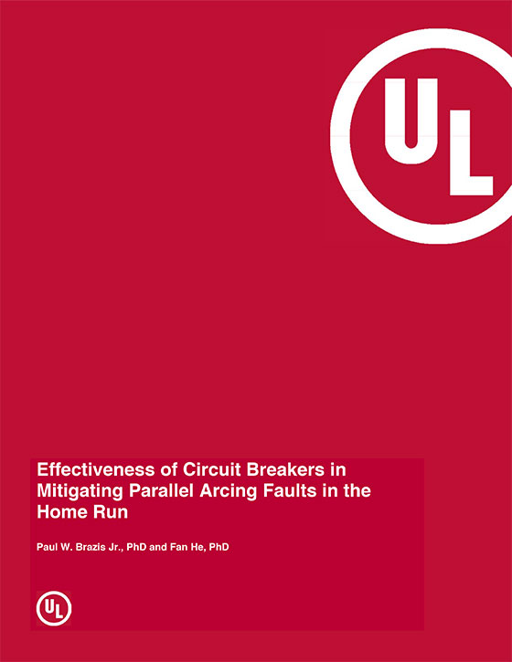 Effectiveness of Circuit Breakers in Mitigating Parallel Arcing Faults in the Home Run