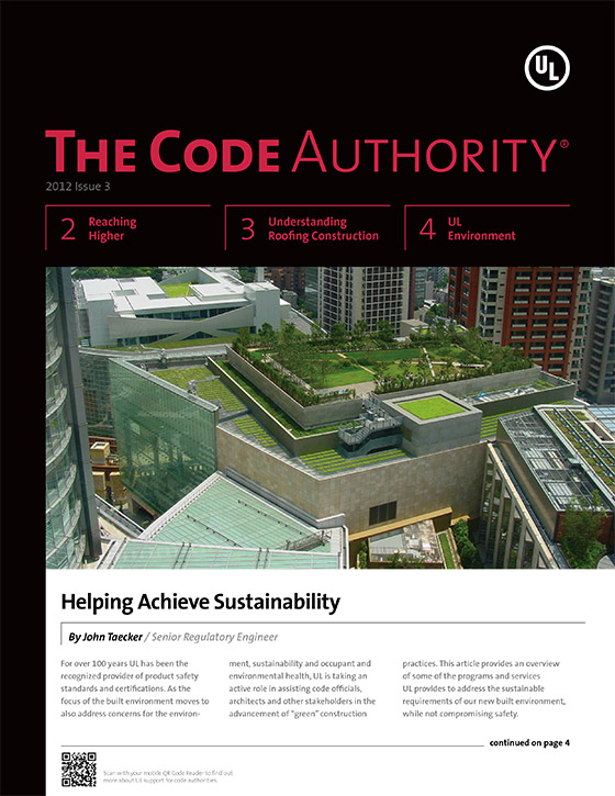 The Code Authority, 2012, Issue 3