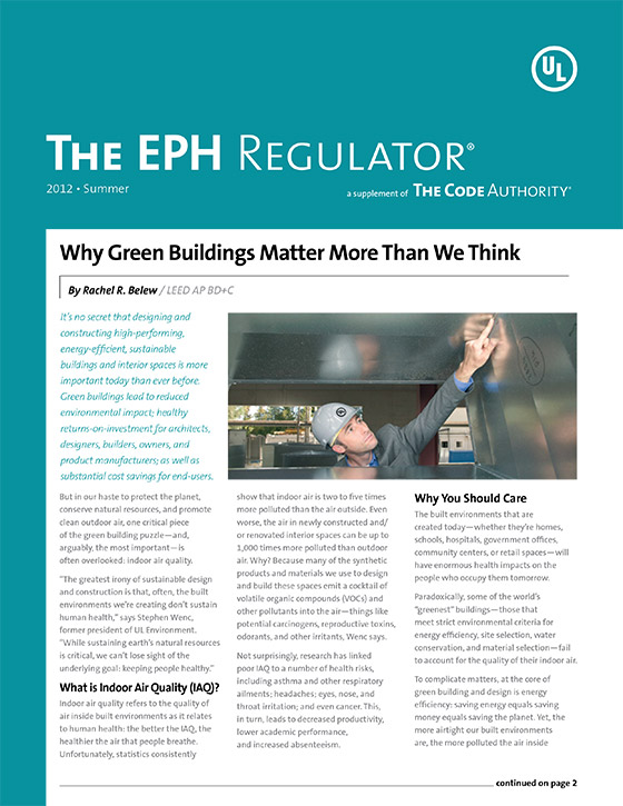 The EPH Regulator, 2012, Issue 2