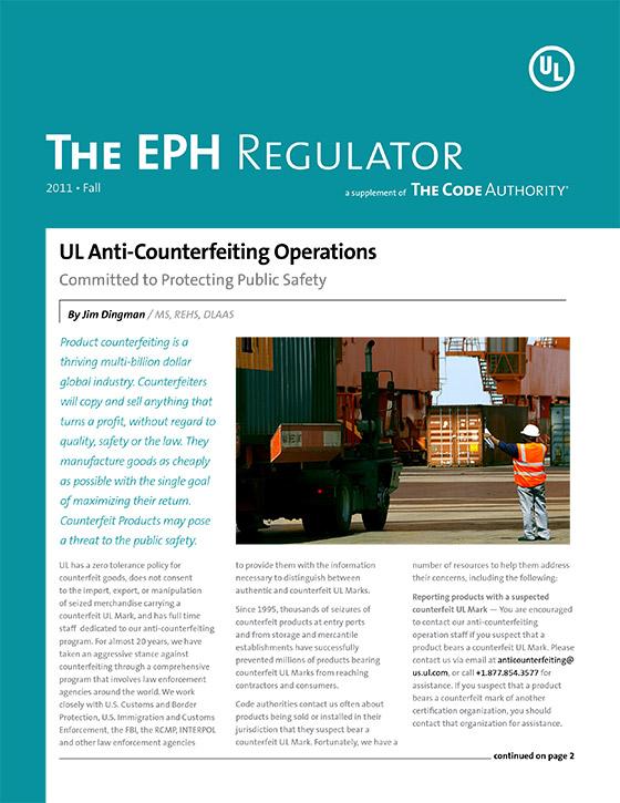 The EPH Regulator, 2011, Issue 3