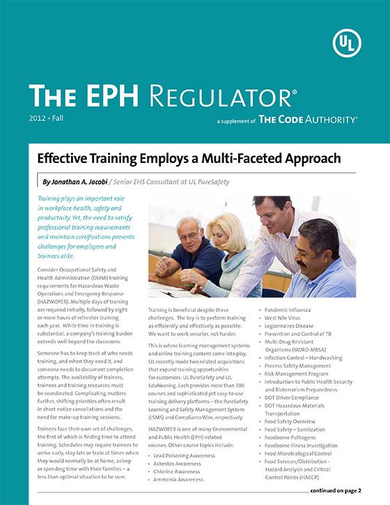 The EPH Regulator, 2012, Issue 3
