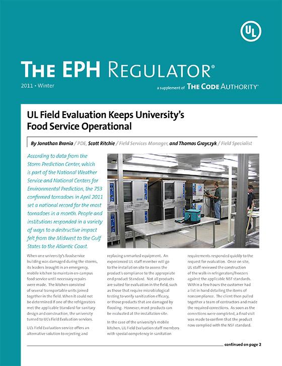 The EPH Regulator, 2011, Issue 4