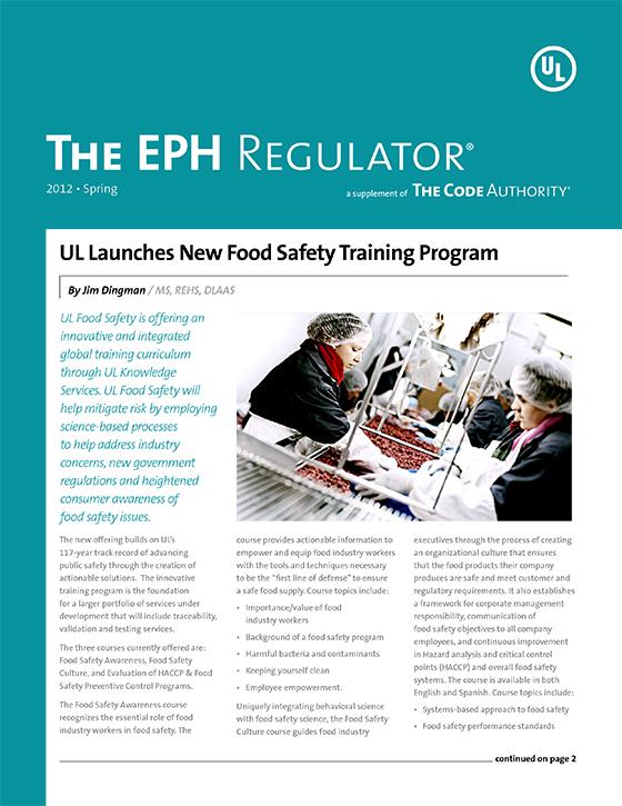 The EPH Regulator, 2012, Issue 1