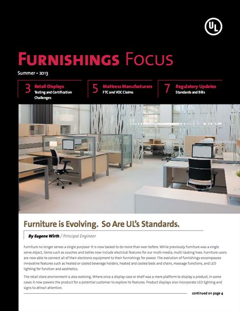 Furnishings Focus: Summer 2013