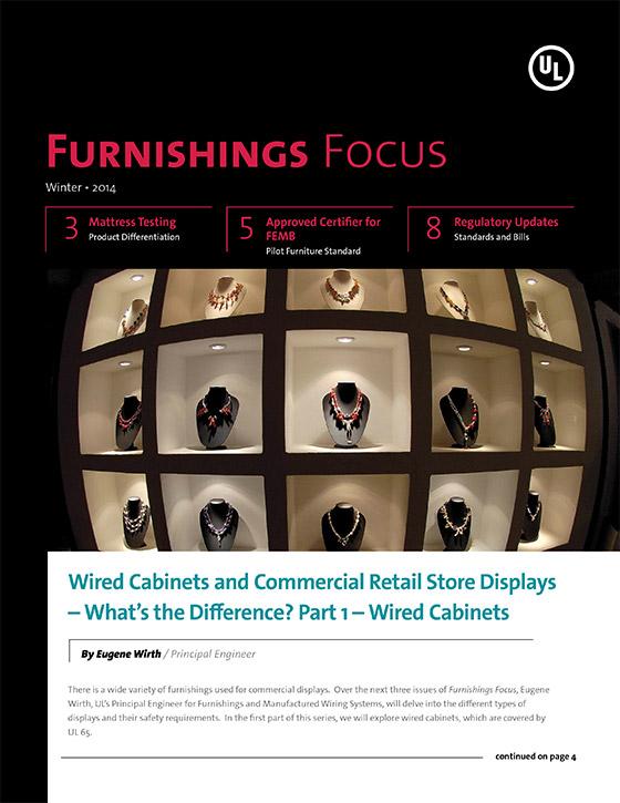 Furnishings Focus: Winter 2013-2014