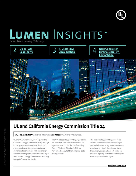 Lumen Insights, 2011, Issue 1