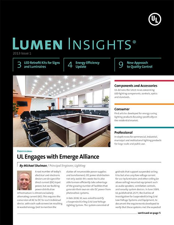 Lumen Insights, 2013, Issue 1