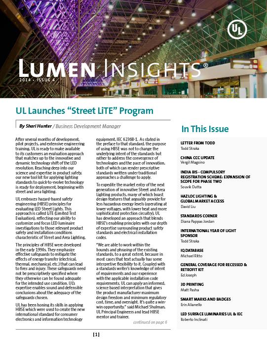 Lumen Insights, 2014, Issue 4