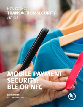 Mobile Payment Security: BLE or NFC
