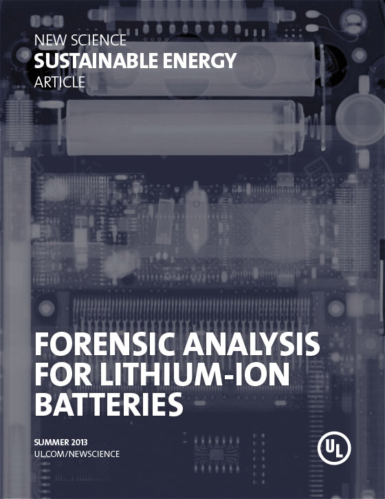 Forensic Analysis for Lithium-Ion Batteries