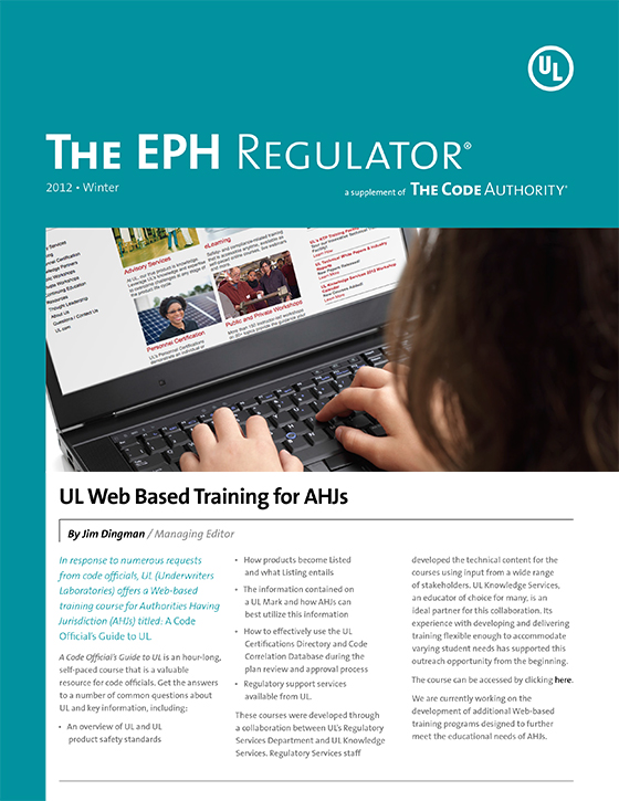 The EPH Regulator, 2012, Issue 4