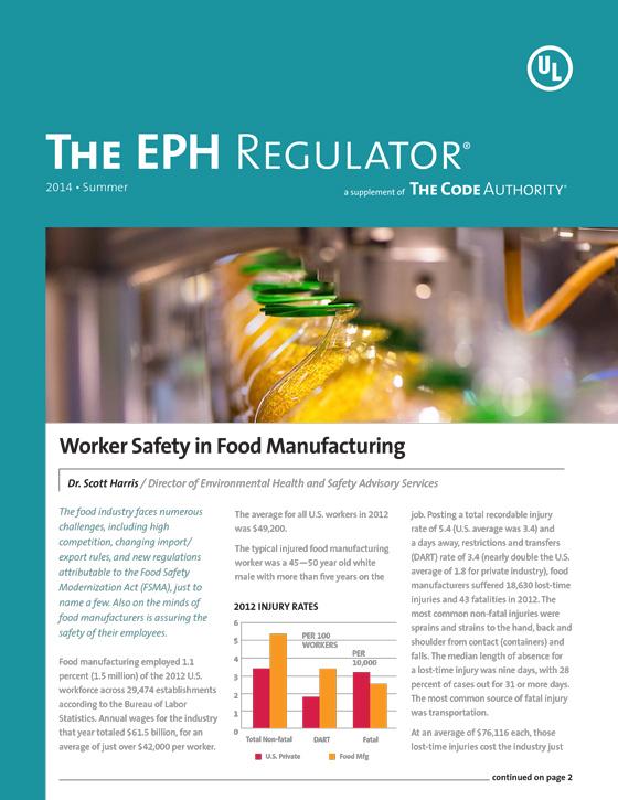 The EPH Regulator, Summer 2014, Issue 1