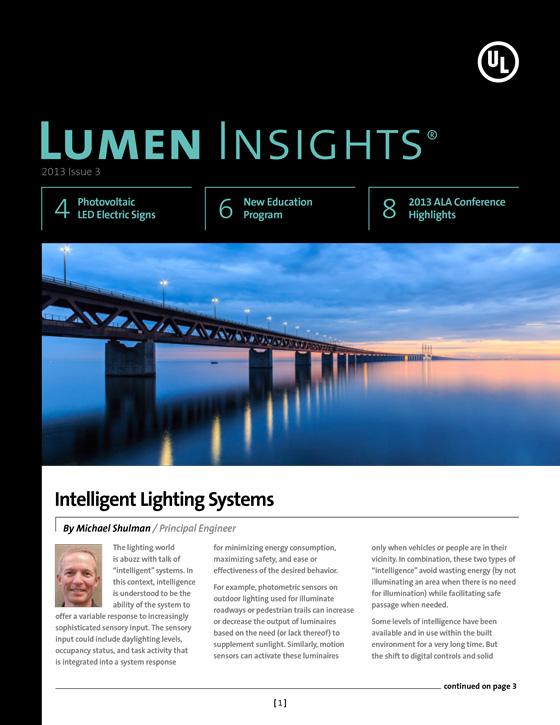 Lumen Insights, 2013, Issue 3