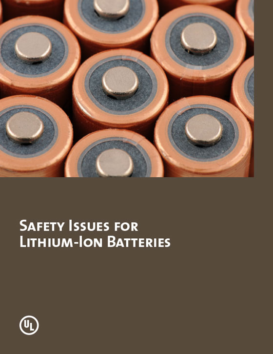 Safety Issues for Lithium-Ion Batteries