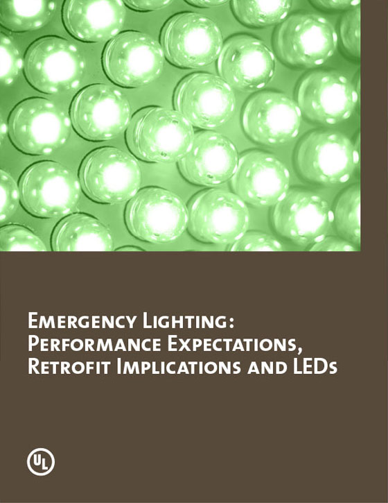 Emergency Lighting: Performance Expectations, Retrofit Implications and LEDs