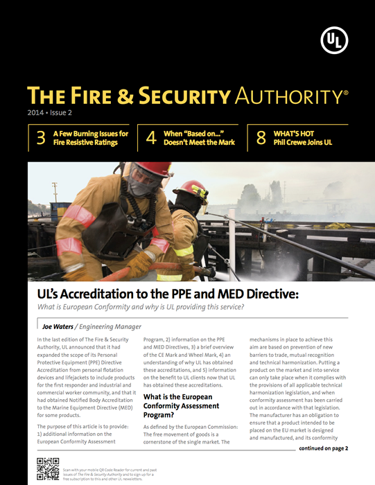 The Fire & Security Authority, 2014, Issue 2