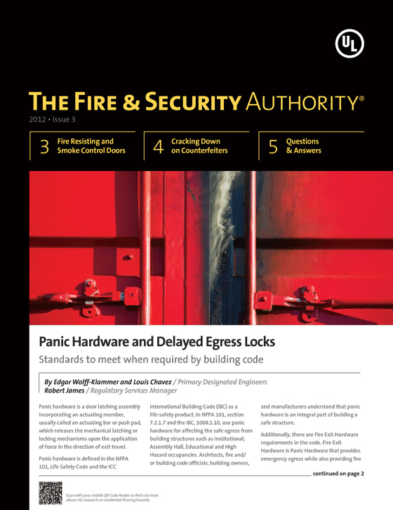 The Fire & Security Authority, 2012, Issue 3