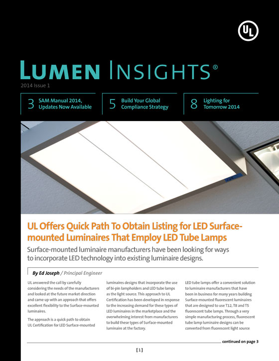 Lumen Insights, 2014, Issue 1