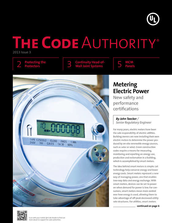 The Code Authority, 2013, Issue 3