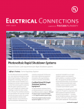 Electrical Connections a Supplement of The Code Authority, 2015, Issue 1
