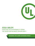 ASSA ABLOY: Investing in Sustainability Opens the Door for Business Opportunity